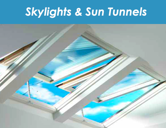 skylights and tunnels