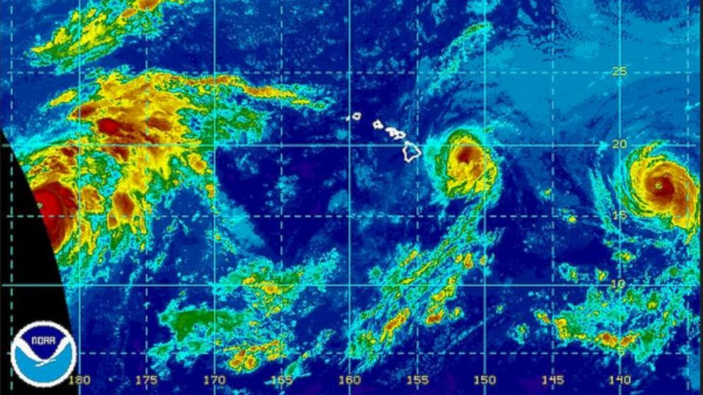 Iselle and Julio noaa_hurricane_map_140808_dg_16x9_992