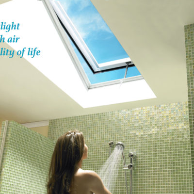 Fresh Air Solar Powered Skylight